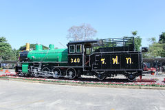Old steam locomotive no.340 Stock Image