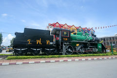 Old steam locomotive no.728 Royalty Free Stock Photo