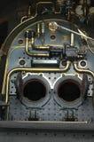 Old steam locomotive's boiler Stock Photos