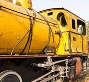 Old steam locomotive Royalty Free Stock Photo