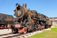 Old steam locomotive Stock Photos
