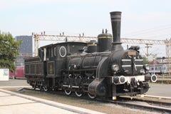 Old steam locomotive Stock Image