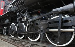 Old Steam Locomotive Train Royalty Free Stock Images