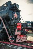 Old steam locomotives Stock Image
