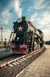 Old steam locomotives Royalty Free Stock Images