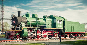 Old steam locomotives Royalty Free Stock Image
