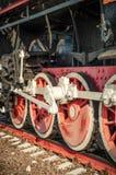 Old steam locomotives Stock Photos