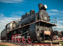 Old steam locomotives Royalty Free Stock Photo