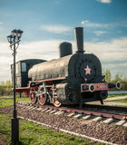 Old steam locomotives Royalty Free Stock Photography