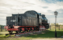 Old steam locomotives Stock Images