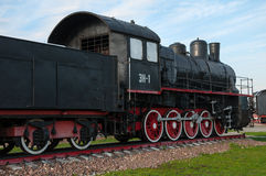 Old steam locomotives Royalty Free Stock Photos