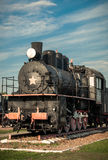 Old steam locomotives Stock Image
