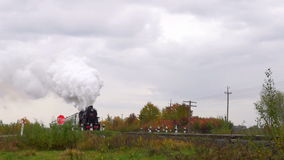 Old Steam Moves stock footage