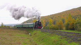 Old Steam Moves stock video footage