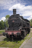 Old steam polish rail engine Royalty Free Stock Image