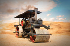 Free Old Steam Roller. Royalty Free Stock Photos - 92493178