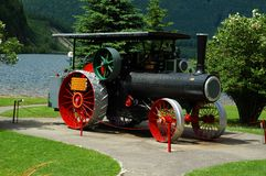 Old Steam Tractor Stock Photo