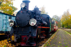 Old steam train royalty free stock photo