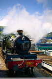 An old steam train Stock Images