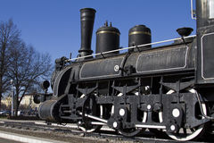 An old steam train Royalty Free Stock Images