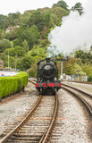 An Old Steam Train Royalty Free Stock Image