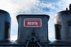 Old steam train Royalty Free Stock Photography