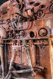 Old steam train engine Royalty Free Stock Photo