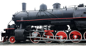 Old steam train. Royalty Free Stock Photography