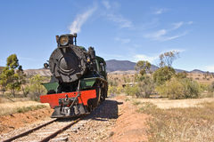 Old steam train locomotive royalty free stock photography