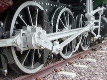 Old steam train Stock Photography
