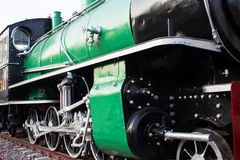 Old Steam train,Thailand Stock Photography
