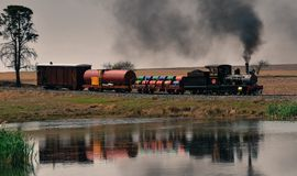 Old Steamer royalty free stock photography