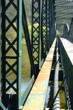 Old steel bridge Stock Photo