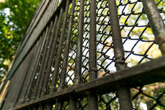 Old steel cages Royalty Free Stock Photography