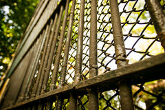 Old steel cages Royalty Free Stock Images