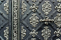 Old steel doors Royalty Free Stock Images