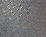 Old steel floor background or texture.  Stock Image