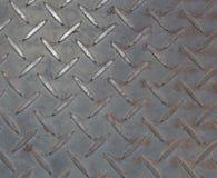 Old steel floor background or texture Stock Image