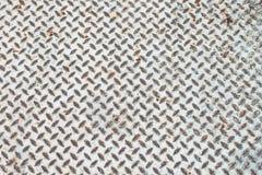 Old steel floor pattern Stock Photo