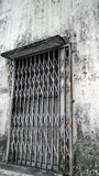Old Steel Gate in Malaysia Royalty Free Stock Photography