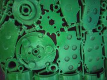 Old Steel gears Stock Photos