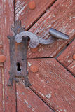 Old steel handle Royalty Free Stock Images