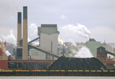 Old steel manufacturing plant Royalty Free Stock Photography