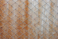 Old steel mesh Stock Image