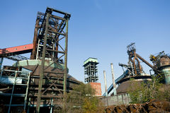 Old steel mill Royalty Free Stock Photo