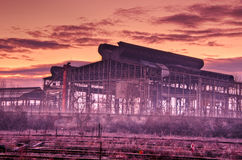 Old Steel Mill, Milano royalty free stock images
