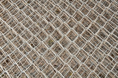 Old Steel net. Texture background Royalty Free Stock Images
