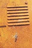 Old steel plate. Abstract, background, textured of old steel plate Stock Images