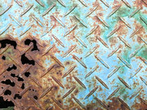 Old steel with rust background Royalty Free Stock Images