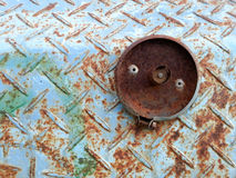 Old steel with rust background Royalty Free Stock Photography